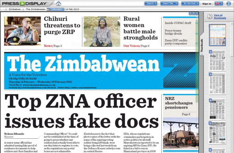 News papers online