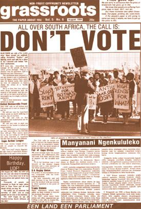 newspaper articles on apartheid