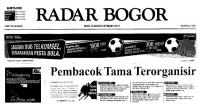 July 12, 2010 issue of Radar Bogor