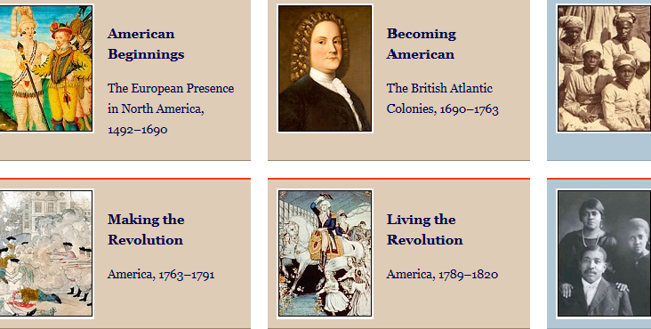 The America in Class project offers collections of primary resources compatible with the Common Core State Standards—historical documents, literary texts, and works of art—thematically organized with notes and discussion questions.